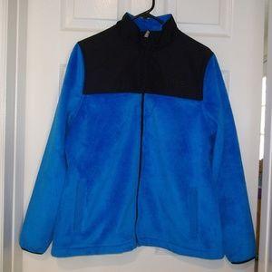 FILA Plush Blue Womens Jacket Size L